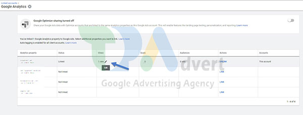 join google analytics to google ads